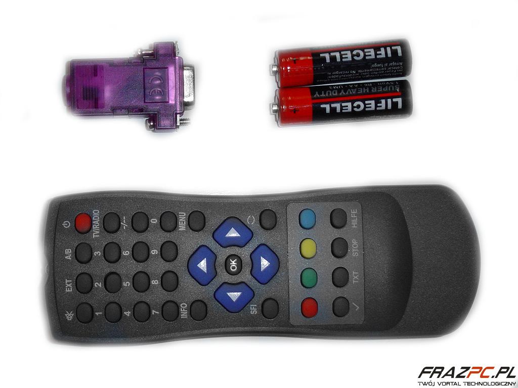 Konfiguracja IrDA na COM + adapter COM na USB z Girderem