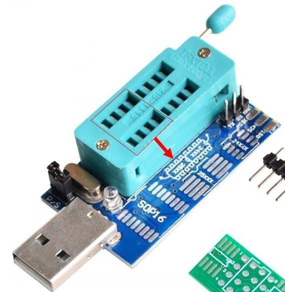 Mini Programmer CH341A manual - elektroda com
