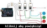 Sterowanie 90 watową LED za pomocą PWM z arduino