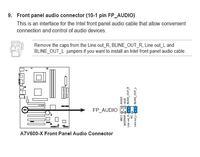 Jak pod��czy� panel przedni audio do p�yty Asus A7V600-X