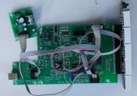 Dwukolorowy miernik panelowy 4,5 cyfry, U/I AC/DC, Hold, REL, izolowany USART
