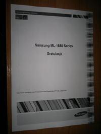 samsung ML-1660 - Czarne marginesy