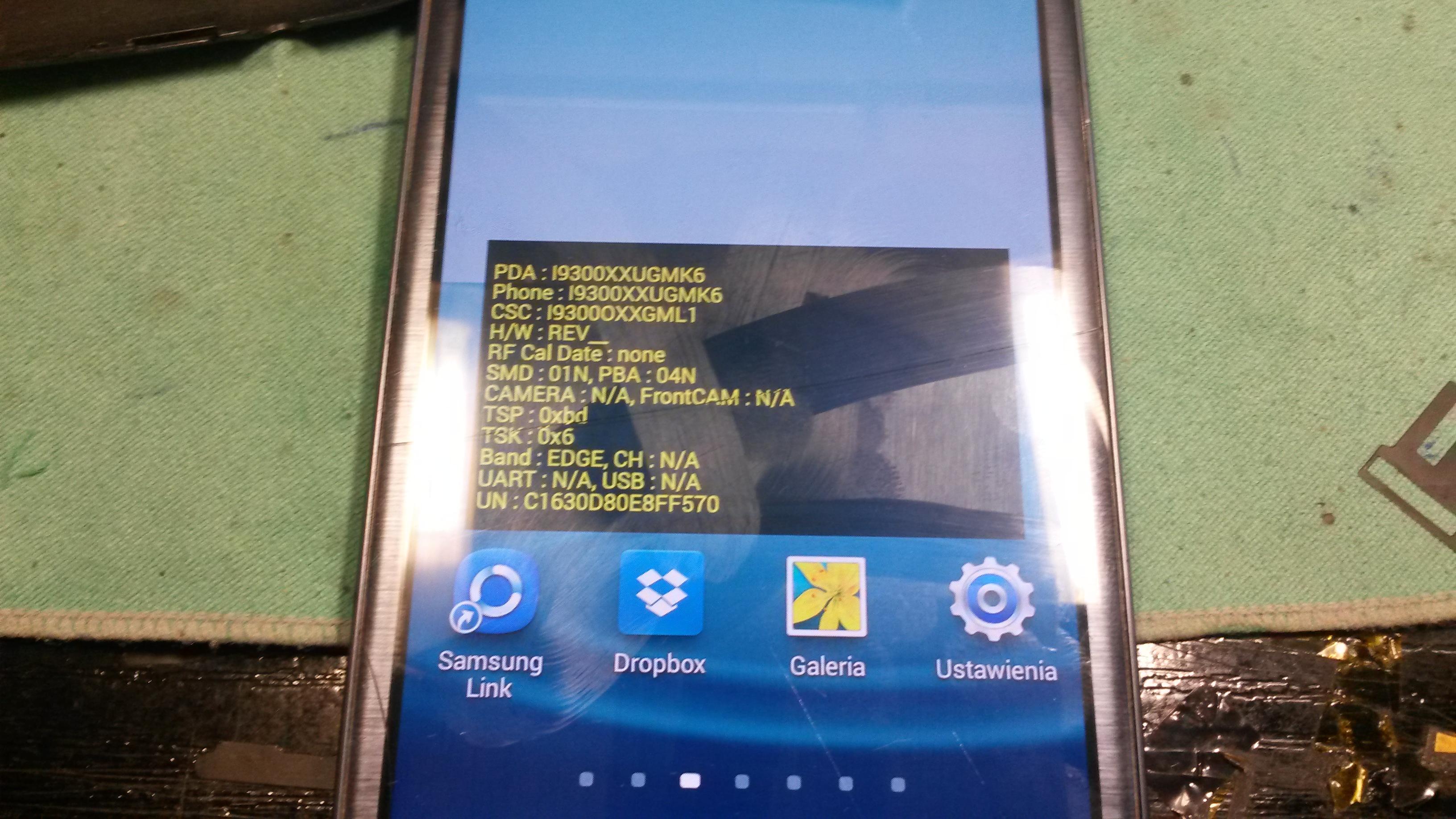 Samsung I9300 - i9300 nie mo�na usun�� okna