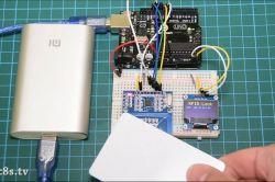 Zamek otwierany RFID na Arduino