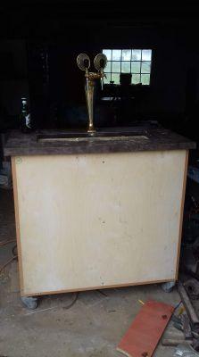 Rollbar nalewak do piwa z lustrem nieskończoności