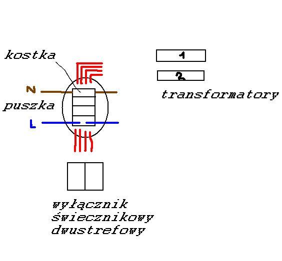 wy��cznik �wiecznikowy-instalacja
