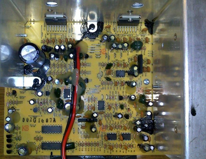 Creative t7900 końcowka mocy tda7378 przednie 2 głośniki nie.