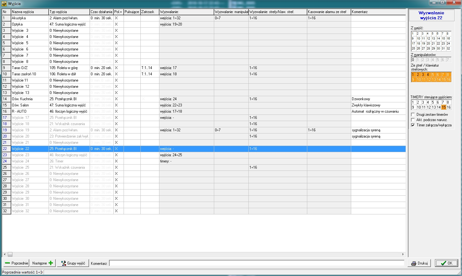 Integra 32 - symulacja obecno�ci domownika