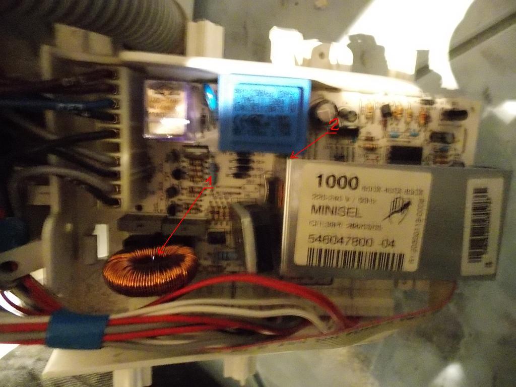 ARDO SED 1010 - Migaj� przyciski i obraca si� z przerwami
