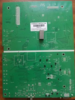 JVC LT-55VU83A - Pasy na ekranie. Nie działa pilot.
