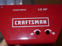 Napęd Craftsman 1/2 HP - Opuszcza 20 cm i wraca z obciążeniem jak i bez