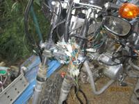 72cc enduro 2002r - czarna magia w elektryce , brak iskry