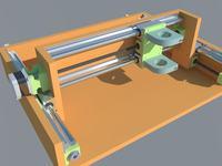 Frezarka CNC - kolejna sztuka - sklejka/polietylen/PCV:)