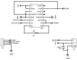 Wzmacniacz ogniwa tensometrycznego na INA125 ocena płytki