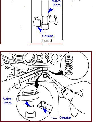 Jak złożyć zabezpieczenie zaworów silnik briggs 12,5