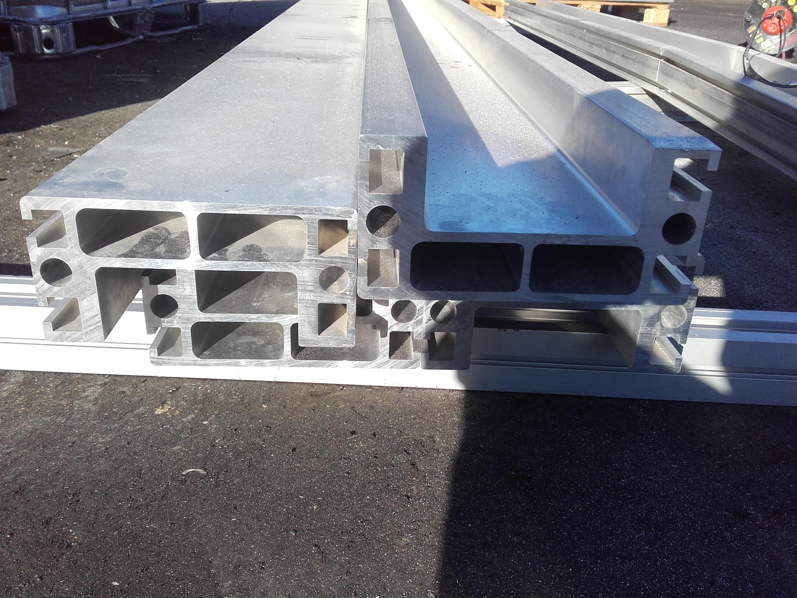 Cudowna Sprzedam] Grube profile aluminiowe CNC C beam - elektroda.pl UE12
