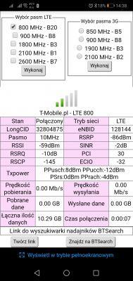 Dobór anteny LTE T-Mobile poprawa odbioru sygnału
