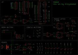Dzwonek do drzwi oparty na procesorze Z80 (reprodukcja MIK64)