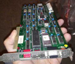Reanimacja AMD 286 - Monitor nic nie wyświetla, diody na klawiaturze nie palą s