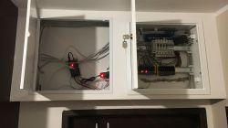 Winda projektora i sterowanie Arduino