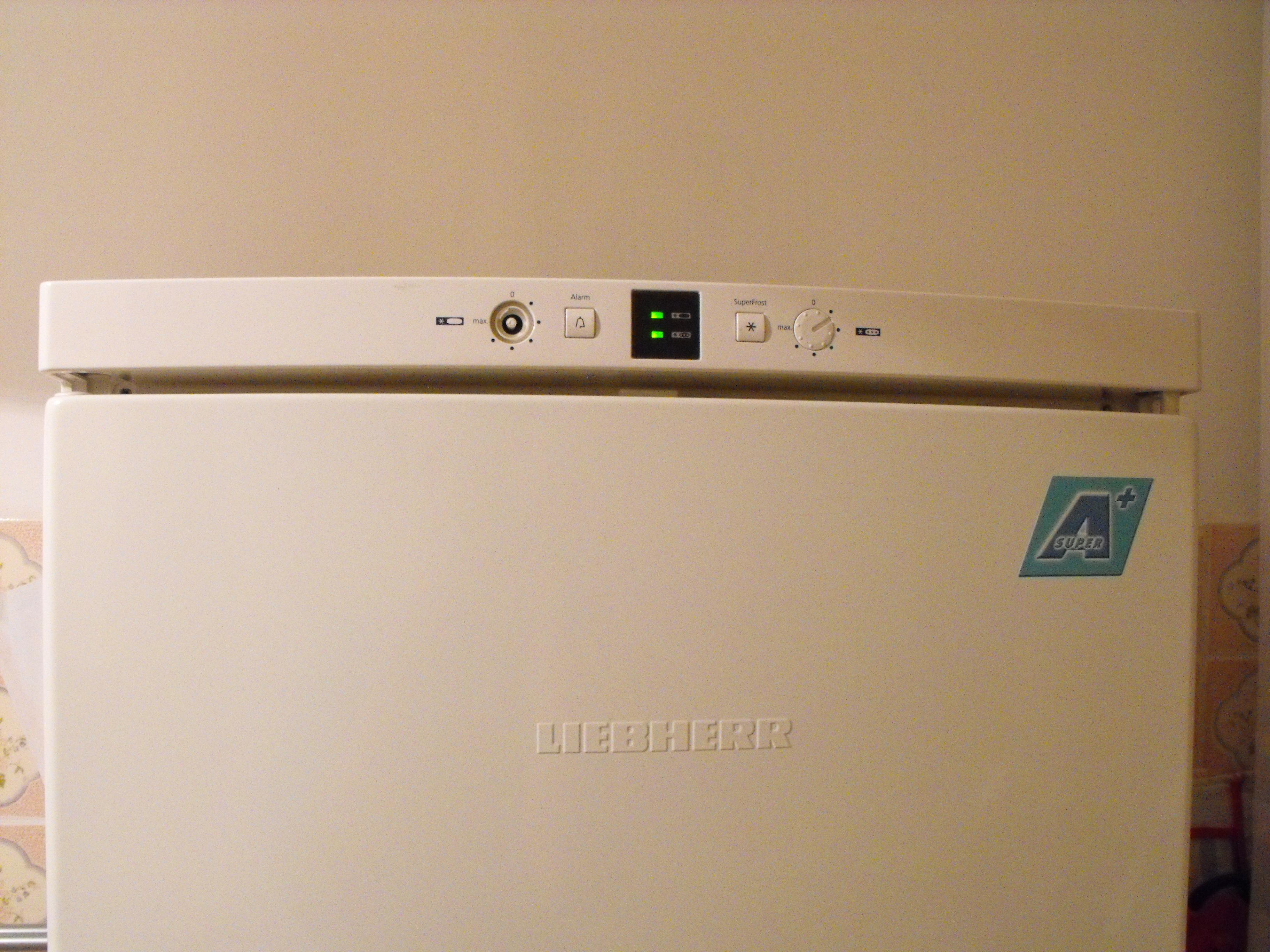 Lod�wko-Zam, Liebherr 35010 - Awaria elektronicznego termostatu - lod�wka mrozi
