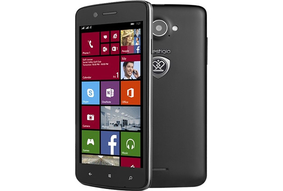 Prestigio MultiPhone 8500 DUO - 5-calowy smartphone z Windows Phone 8.1