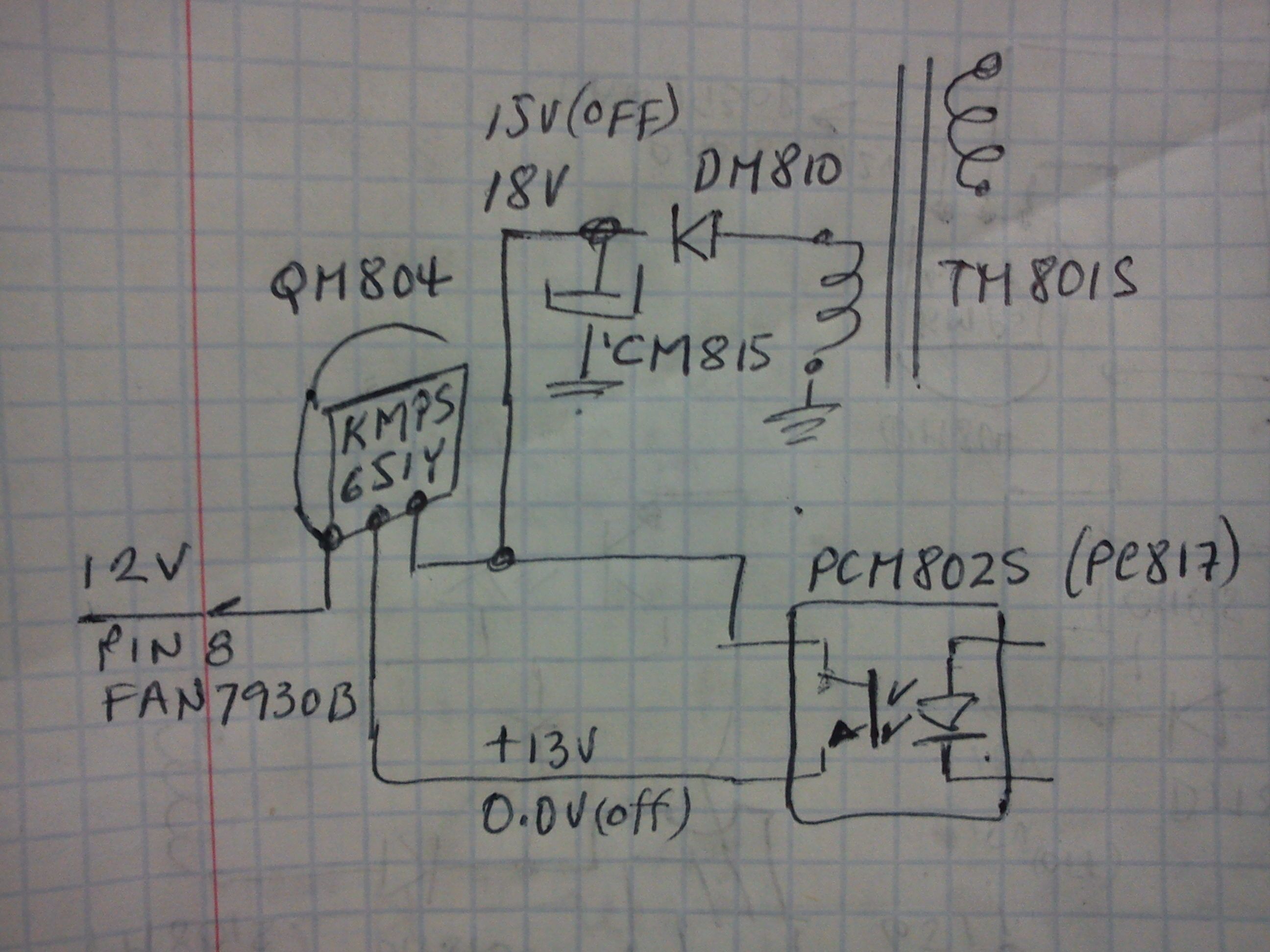 LCD LED LG 47LW980S - Nie dzia�a, zadymi�o si� z wn�trza.