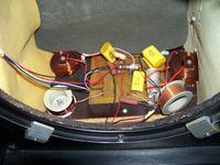 ZG60c201 schemat zwrotnicy, głośnik niskotonowy