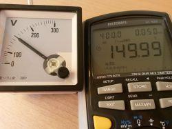 Miernik analogowy do pomiaru true RMS.