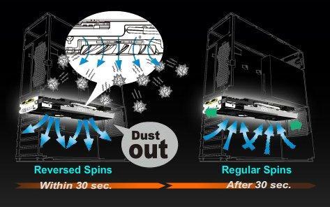 MSI opracowało sposób na usuwanie kurzu z systemów chłodzenia kart graficznych