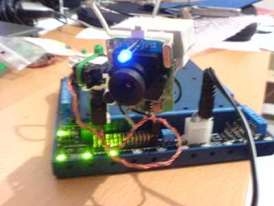 Robot z linuxem - projekt, zdjęcia, źródło