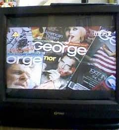 TV Funai TV-2001A MK6 i zwężony obraz