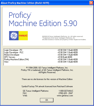 Nowa wersja 5.9 oprogramowania Proficy Machine Edition