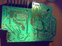 Spalona ładowarka Bosch AL 15 FC 2498
