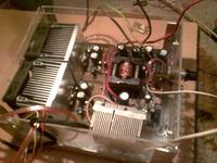 Wzmacniacz samochodowy stereo TDA7294 na przetwornicy Irka