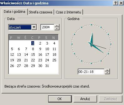 Codziennie mam inna datę i godzinę w komputerze