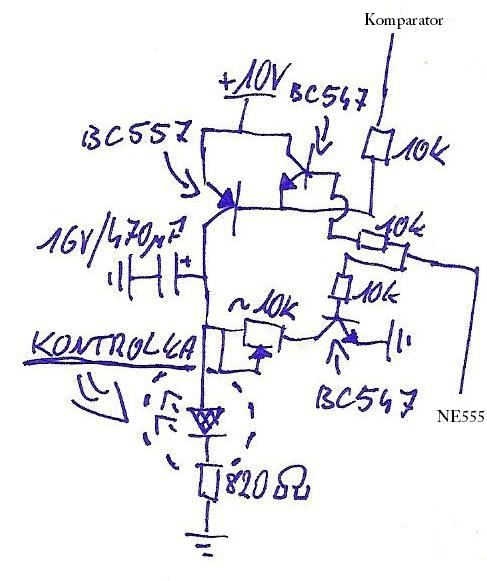 Sterowanie diodą LED przez 2 sygnały