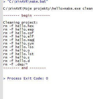 Programowanie uC w C - problem