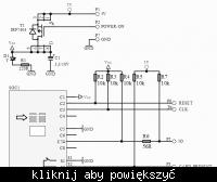 Zamek na karty SMART CARD + pamięć EEPROM 24C32
