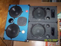 """Mini zestaw estradowy 2+1 TONSIL (4 głośniki 12"""")"""