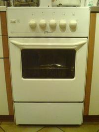Kuchenka Mastercook-regulacja temperatury piekarnika