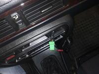 Honda Civic 5D Podgrzewane lusterka, podłączenie pod szyby.