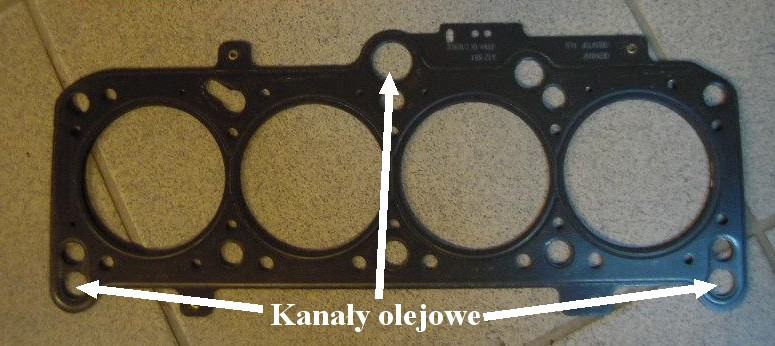 Wyciek Oleju Uszczelka Głowicy Tdi Afn Elektrodapl