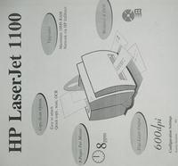 HP LJ 1100 poziome jaśniejsze pasy.