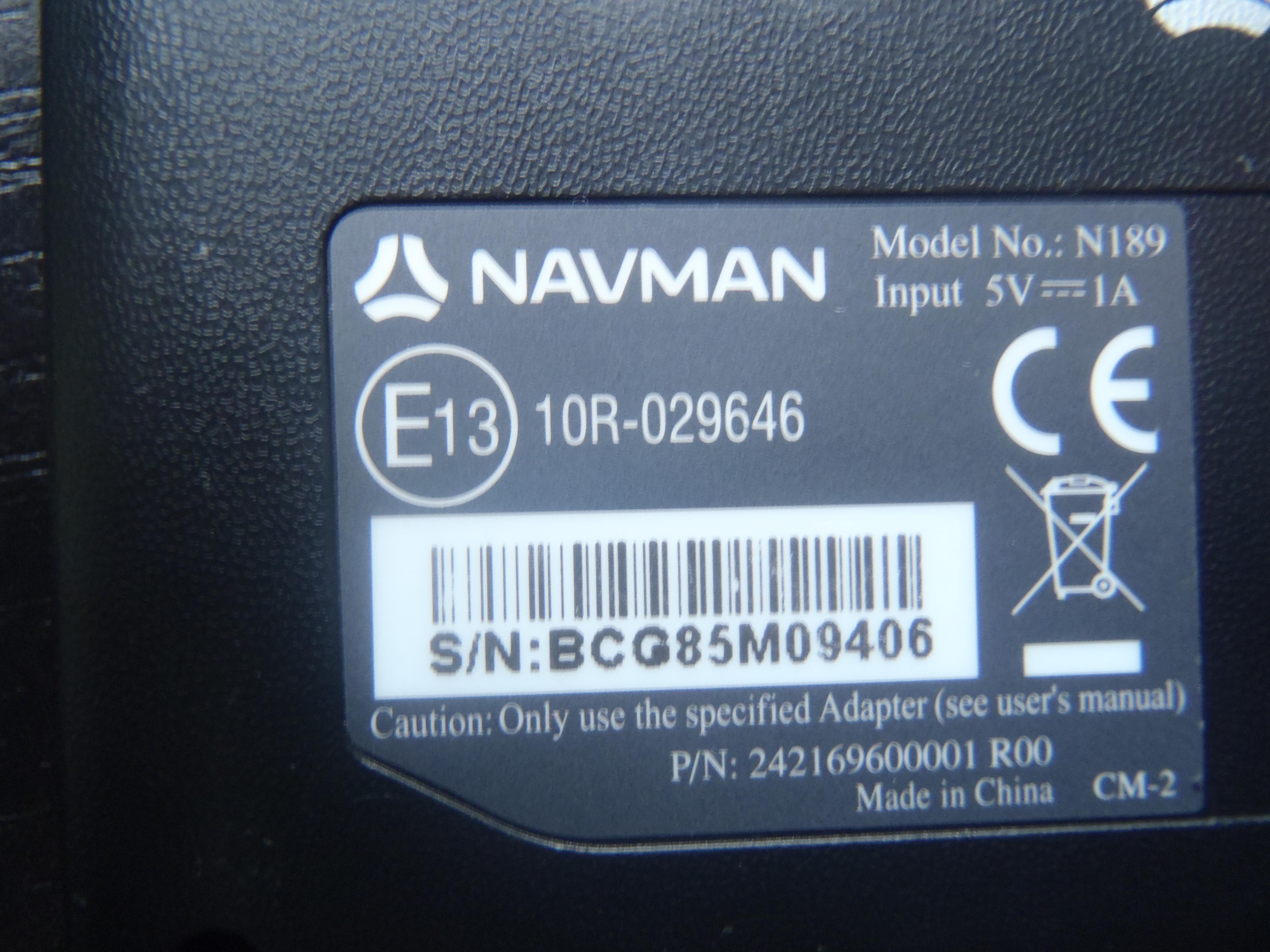 Nawigacja Navman model N189 F25 - elektroda pl