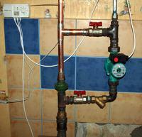 Budowa instalacji CO z piecem na paliwo stałe