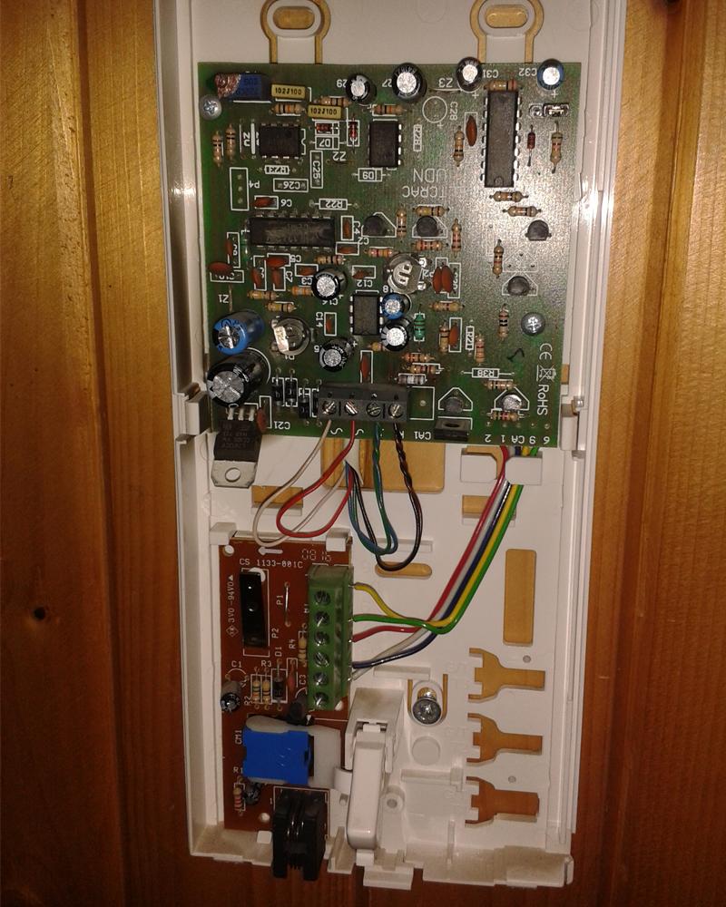 Unifon 1133 D 1 Nie Otwiera Drzwi Spalony Rezystor