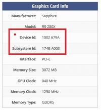 Problem z kartą graficzną - BIOS, wentylator