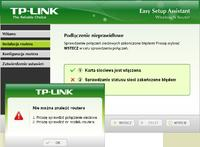 "Router TP-Link WR740N - ""nie mo�na znale�� routera"""