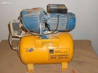 Hydrofor MMB HWW1000/20 Cieknie mi�dzy silnikiem a pomp� na wa�ku